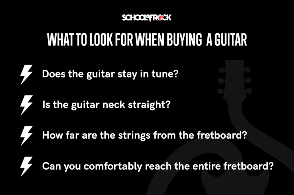 School of Rock | Guide to Buying Your First Guitar