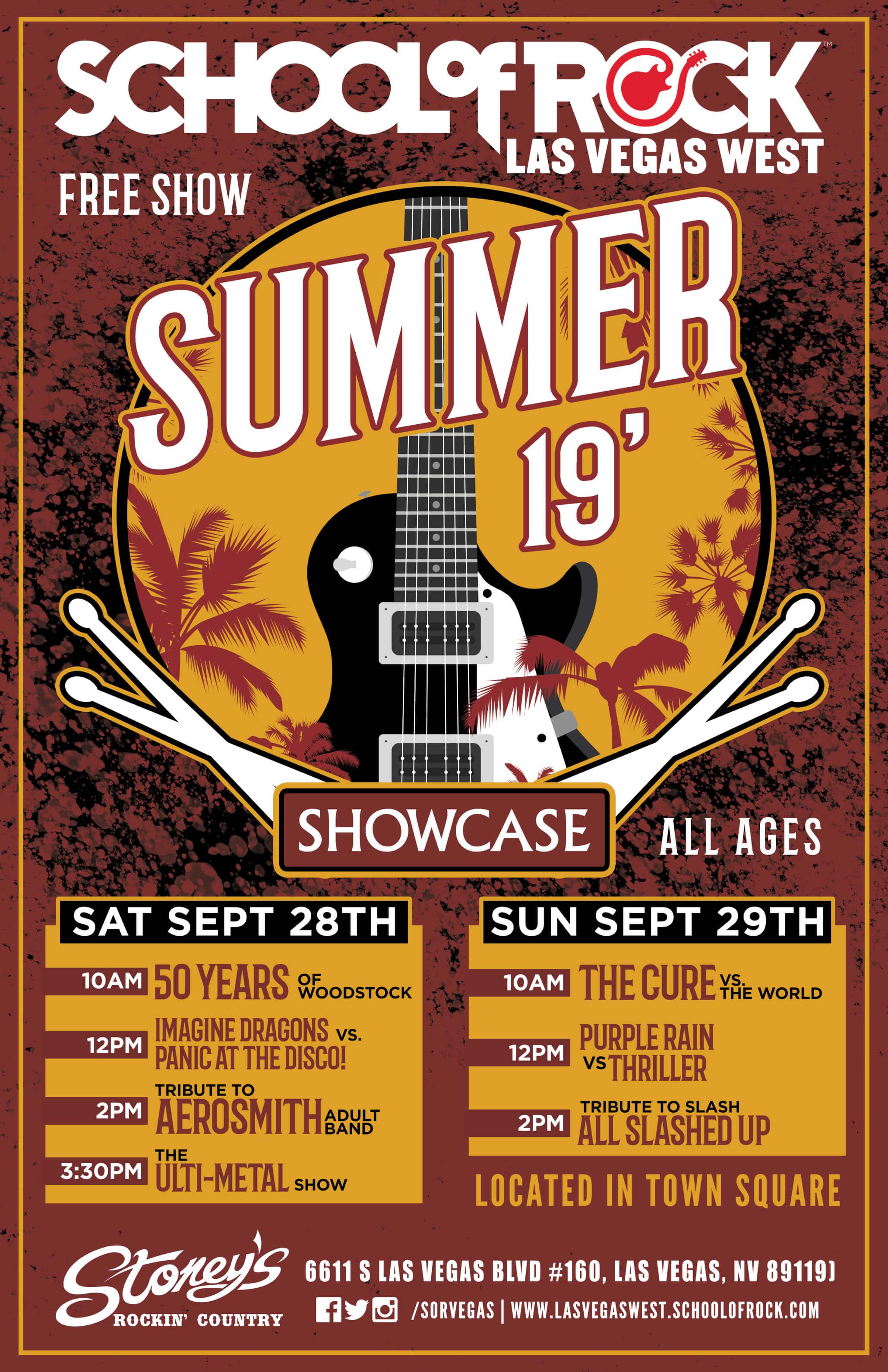 Summer 2019 Concert Series Poster