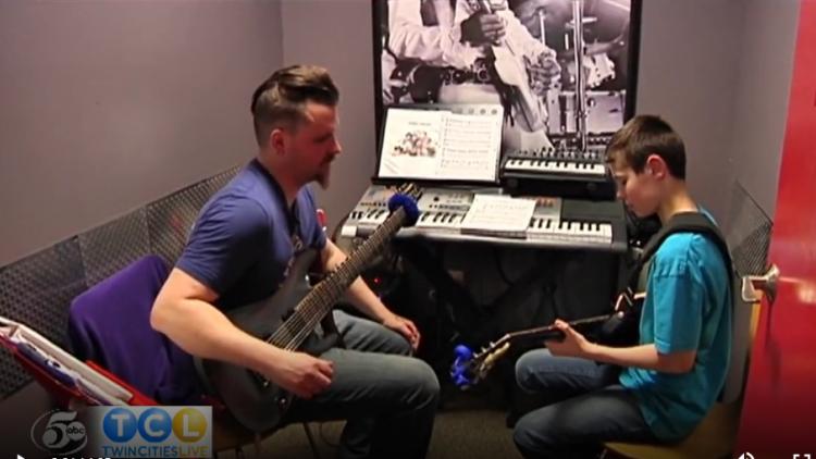 School of Rock Eden Prairie Featured on Twin Cities Live