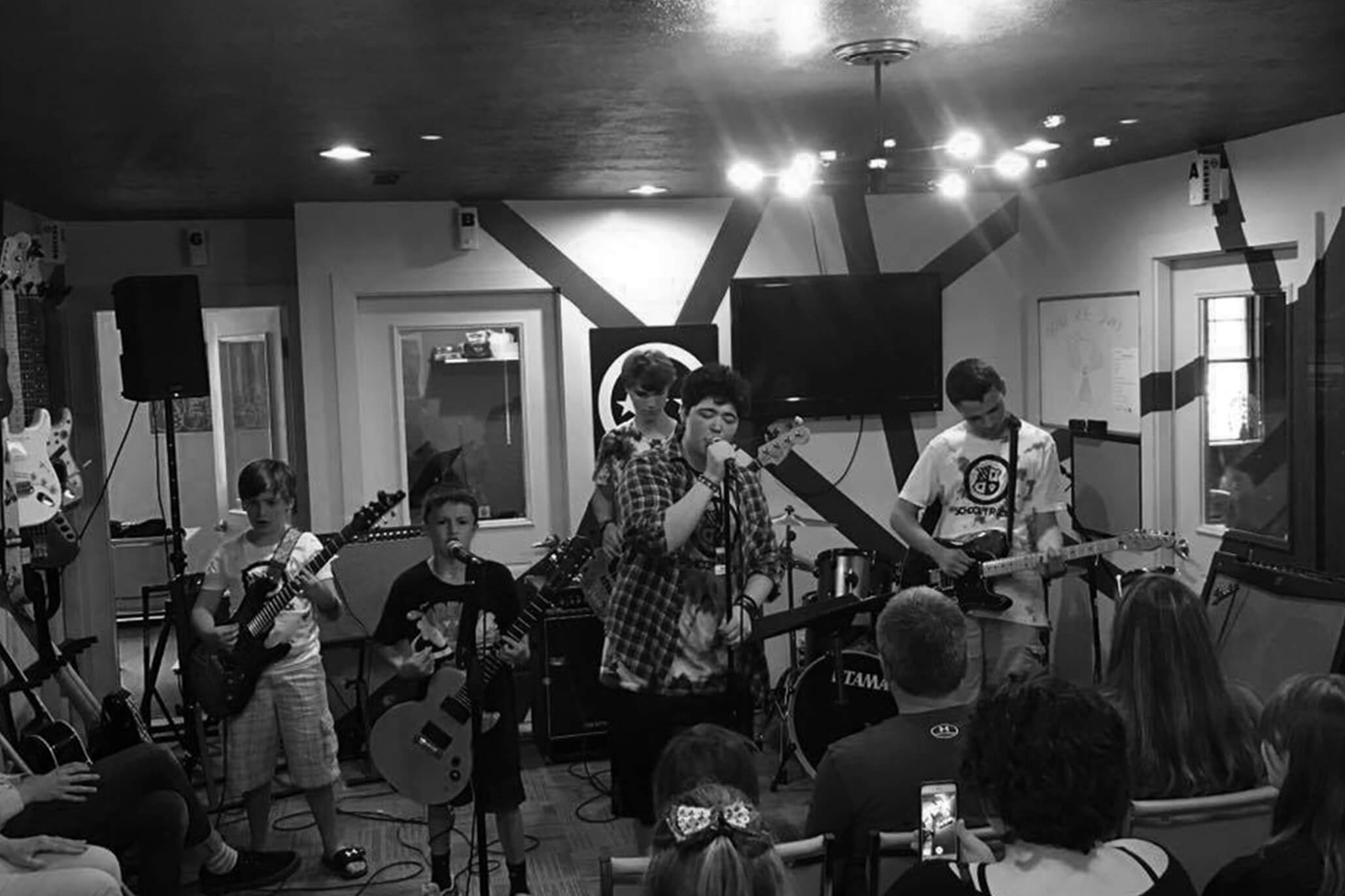 Performance Camp - Rock and Roll Boot Camp July 8-12, 2019 Ages 12-17
