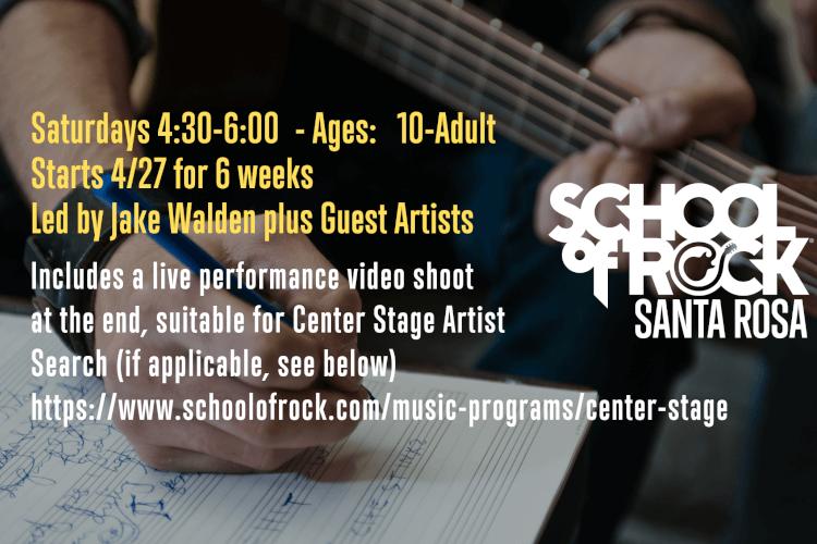 Singer-Songwriter/Center Stage Workshop Series