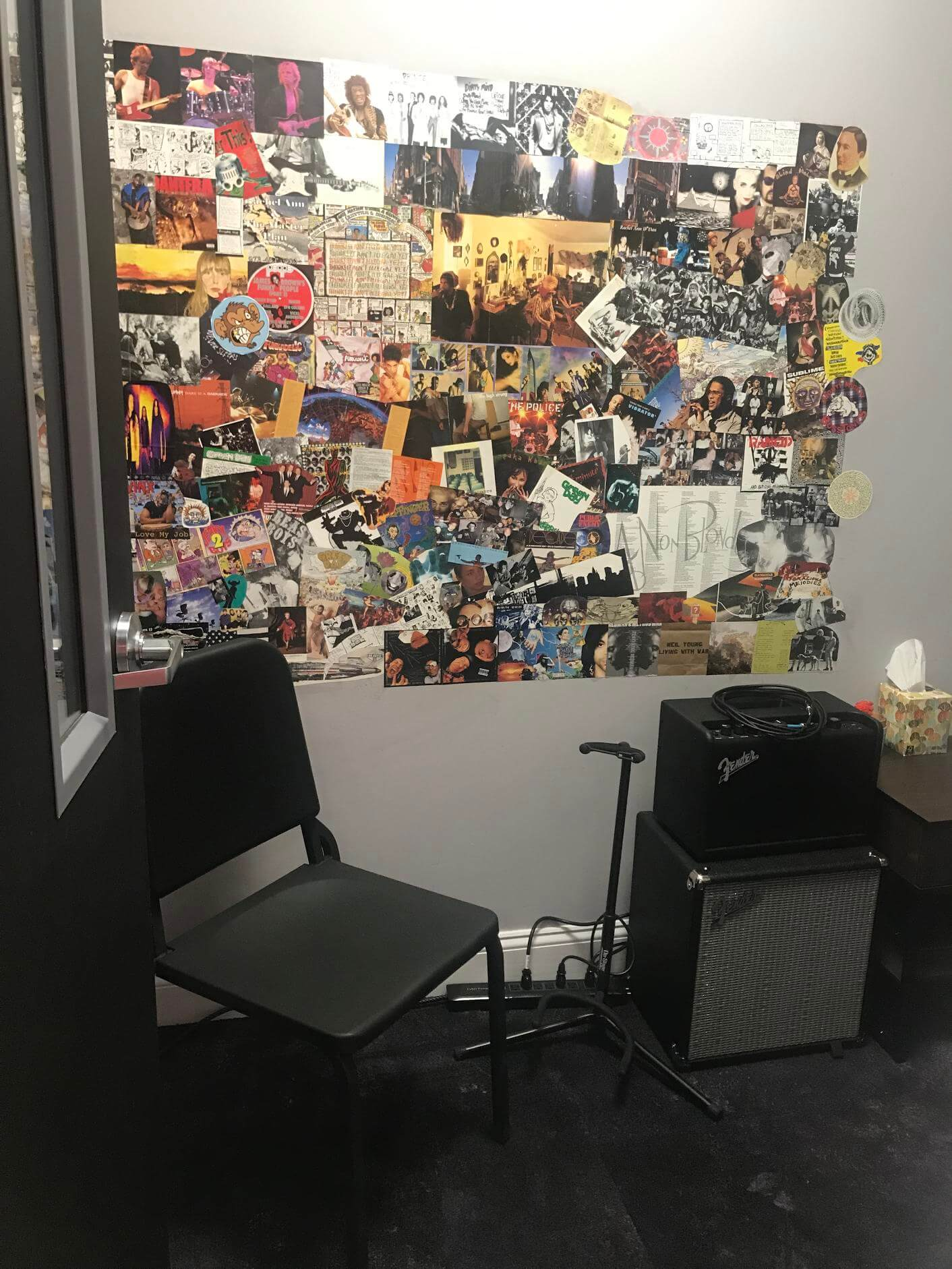 Our 1990s music room is one of our favorites.