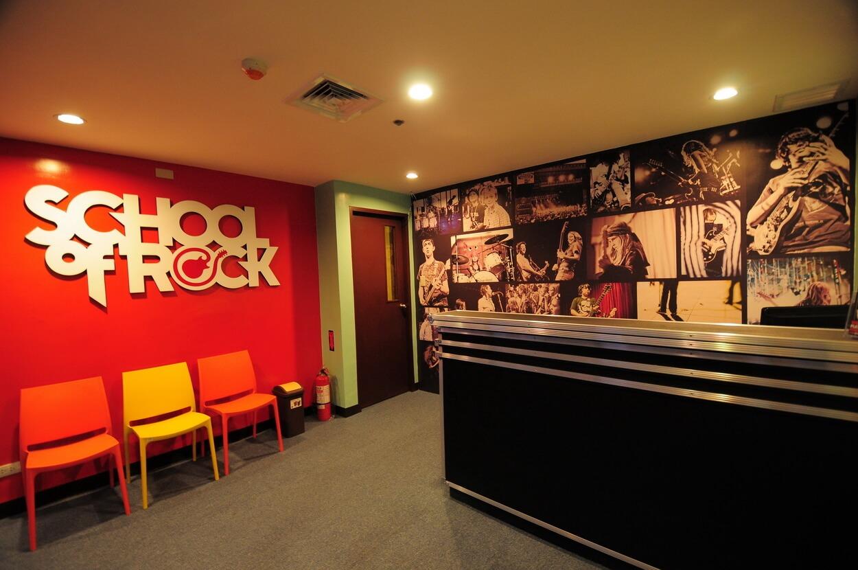 School of Rock Philippines Lobby