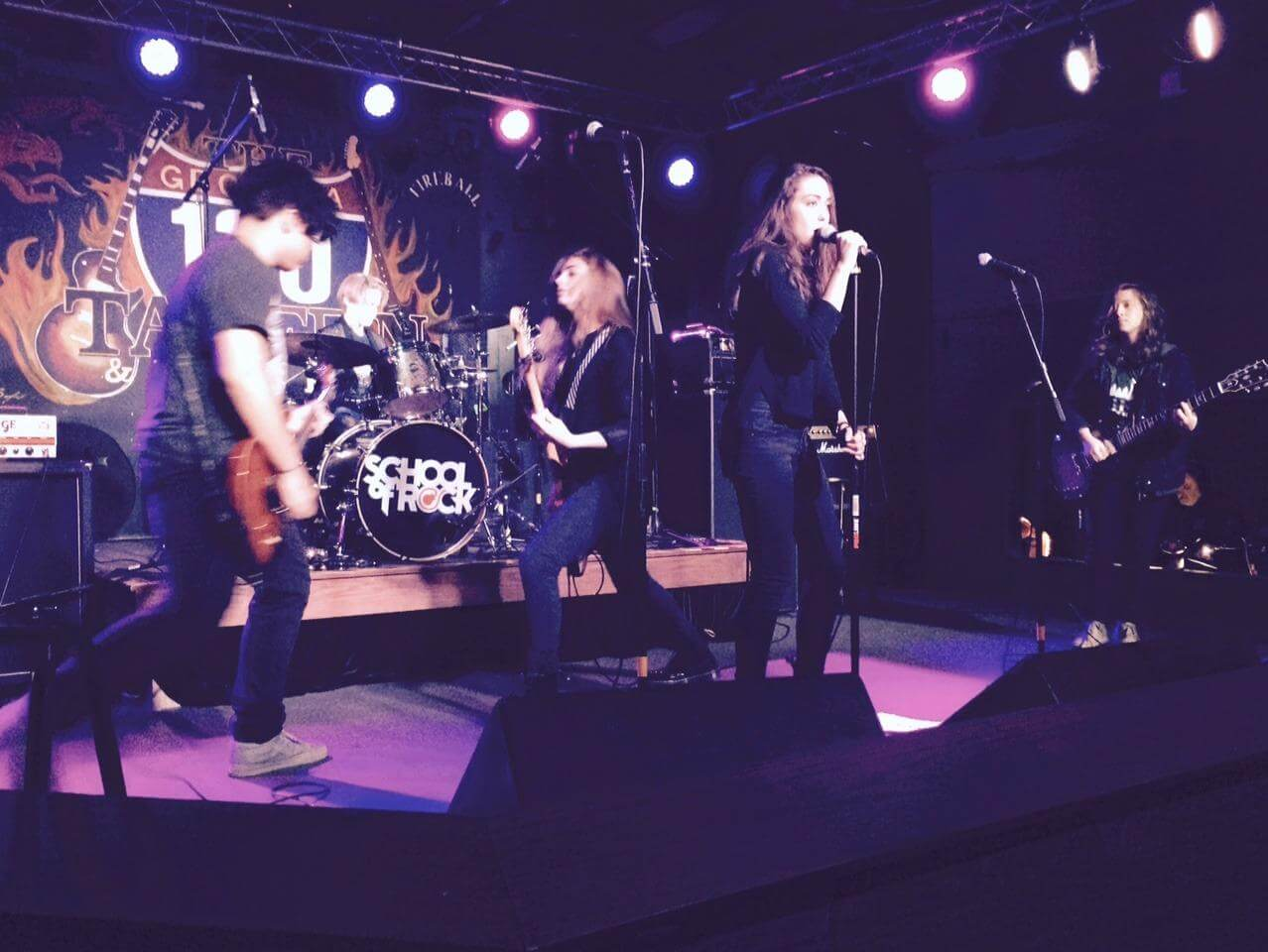 House Band Performance, Dec 2015.