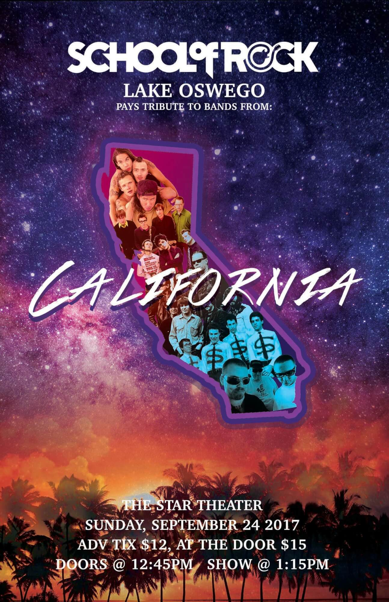 California- Rockin' bands from Cali.