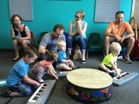 School of Rock Preschool Music Program for Ages 2-3 Includes