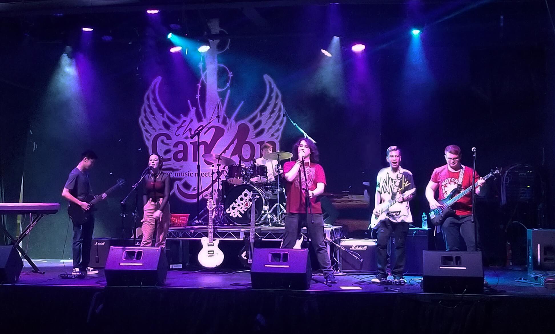 School of Rock Santa Clarita at The Canyon Club.