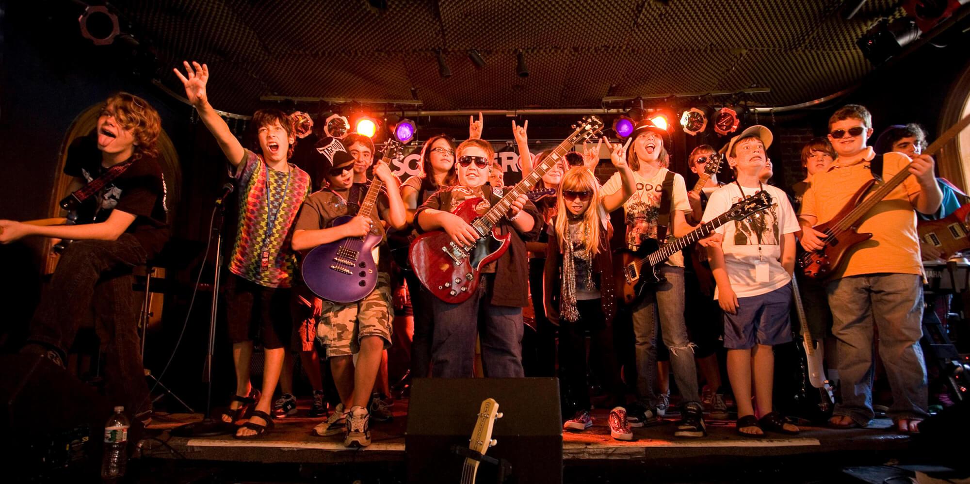 Summer Rock Boot Camp @ School of Rock Montclair
