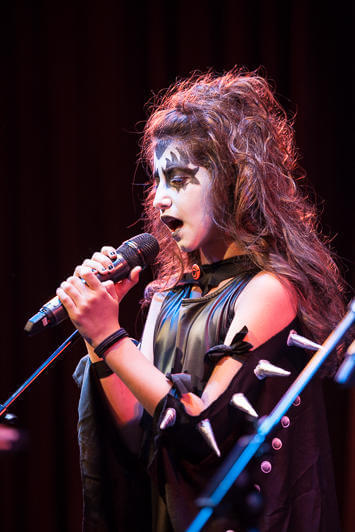 The Kiss Show cast performs at The Creative Alliance.