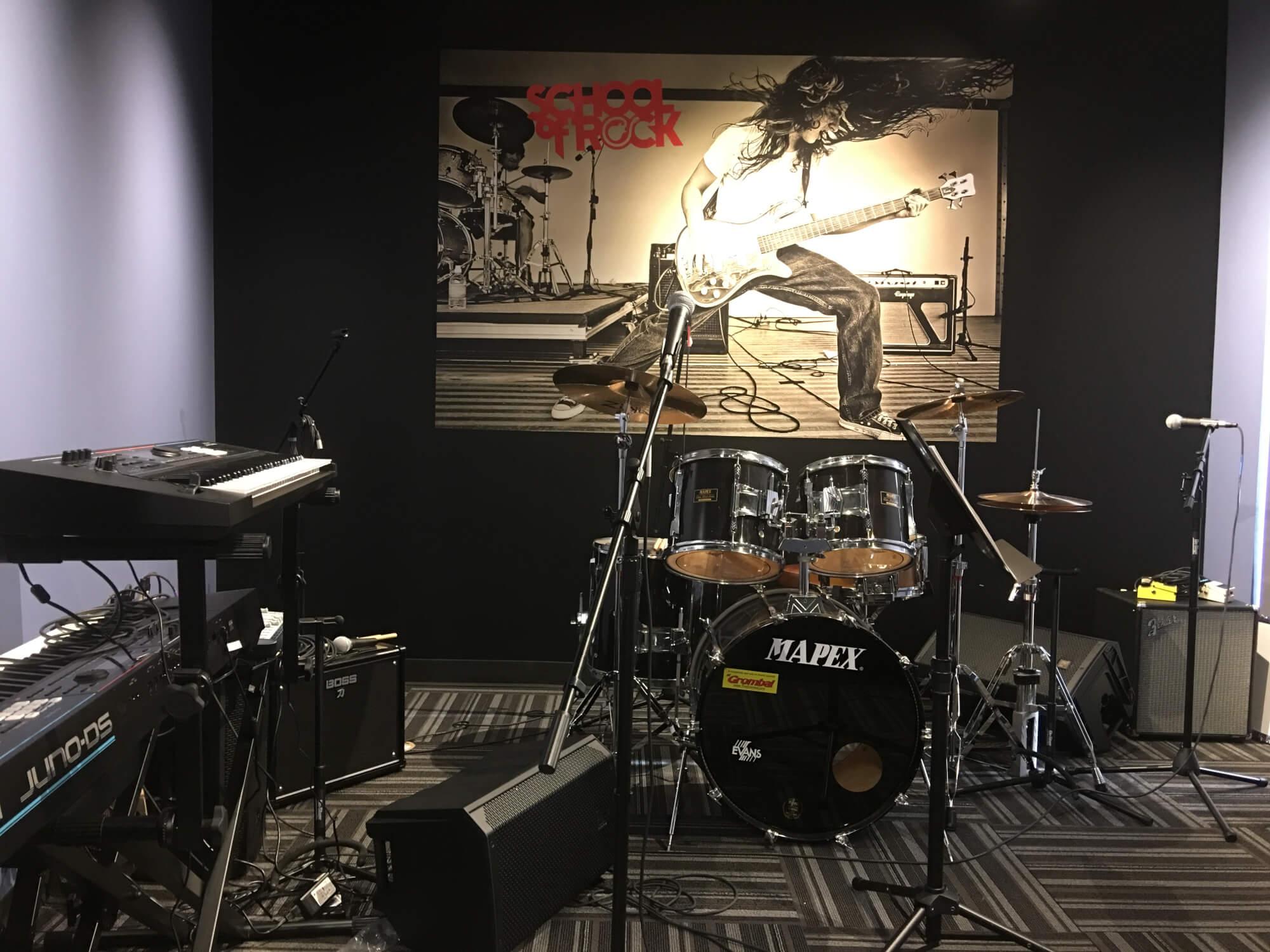 Rehearsal Room.
