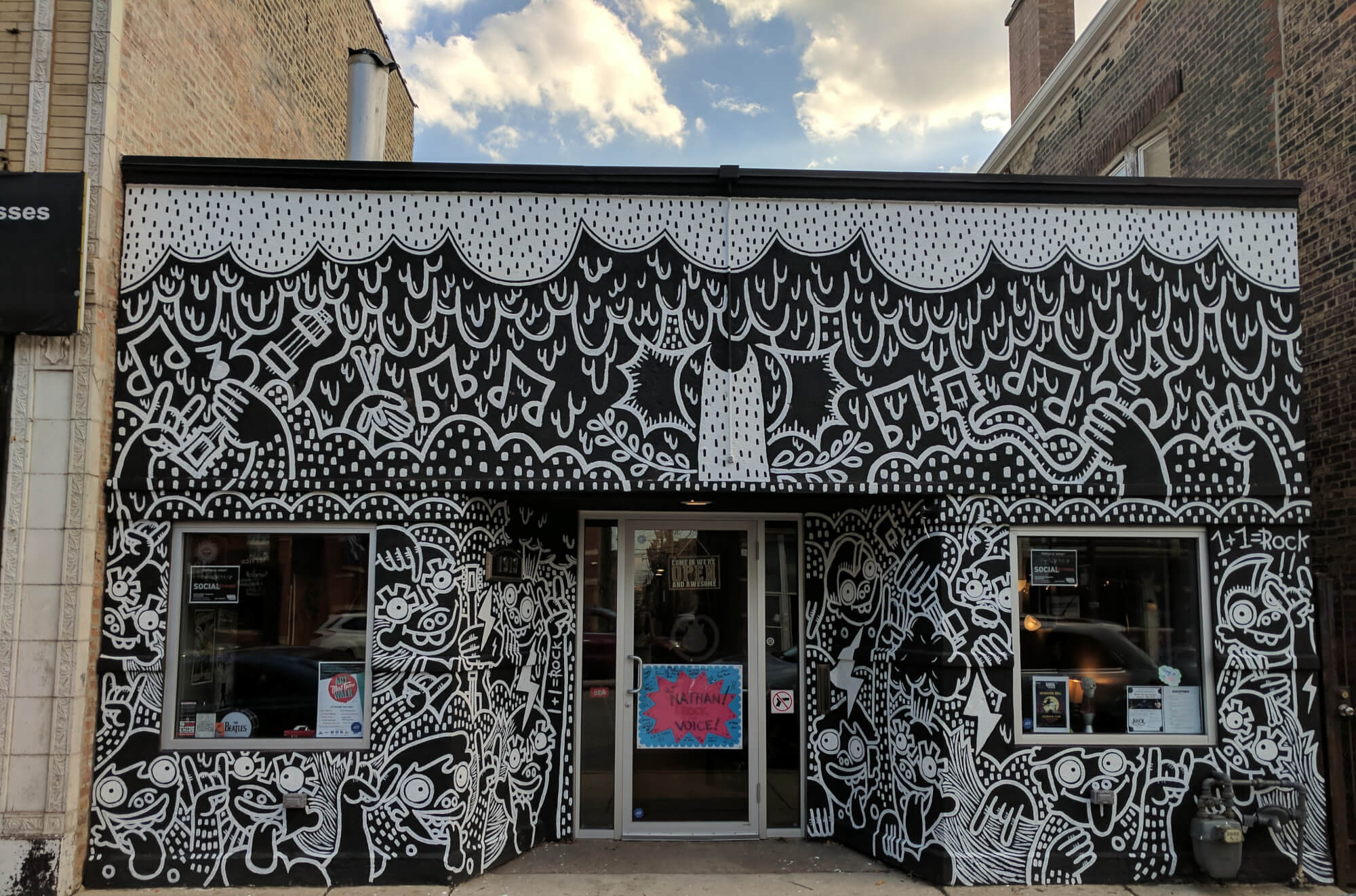 Check out our awesome new mural courtesy of artist Lauren Asta!
