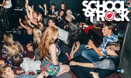 meet your best friends at School of Rock