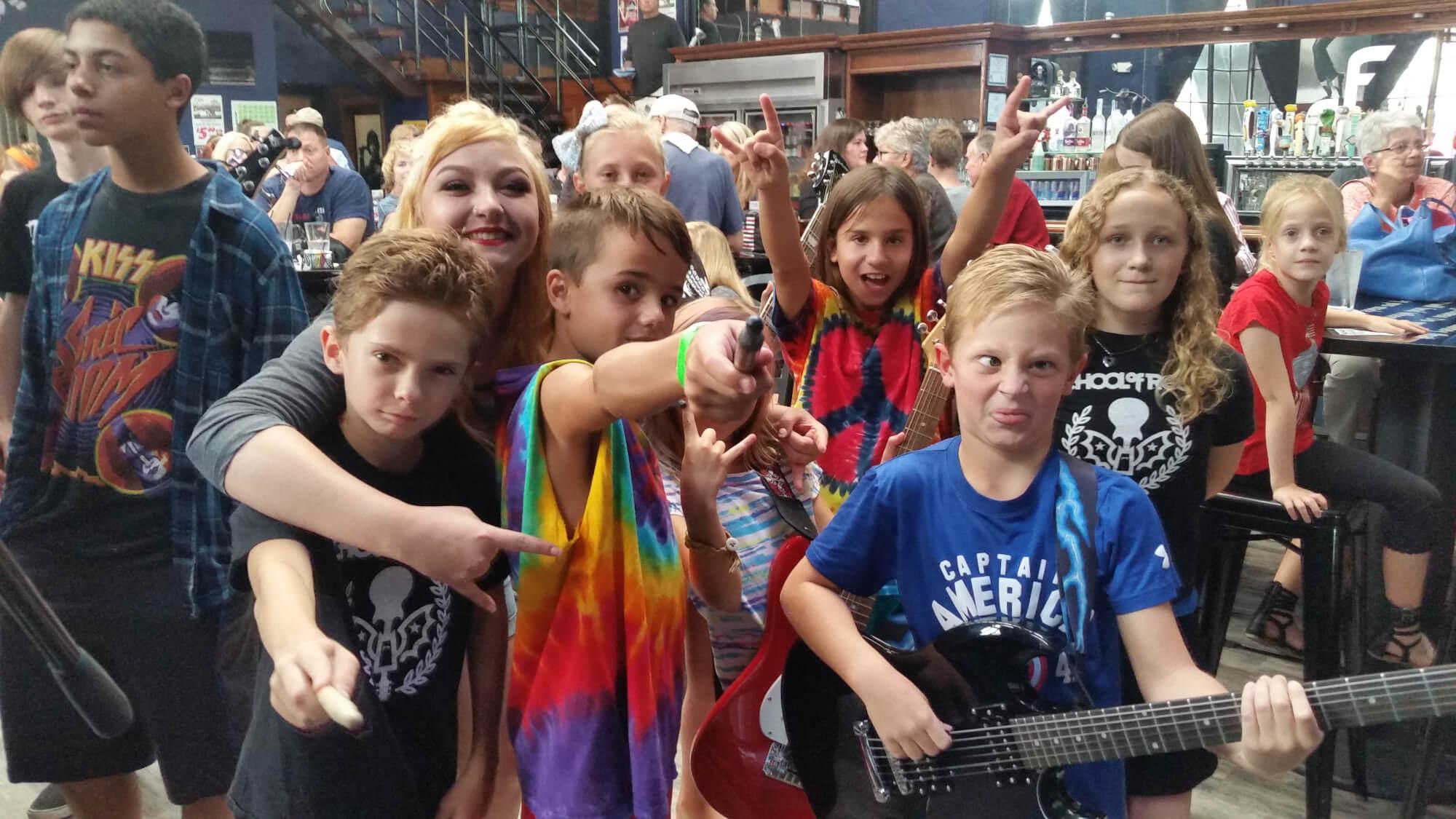 School of Rock Ozzfest & Warped Tour Summer 2016 Show