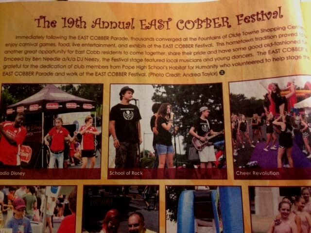 East Cobber Parade & Festival, House Band ROCKED East Cobb, September 13, 2014