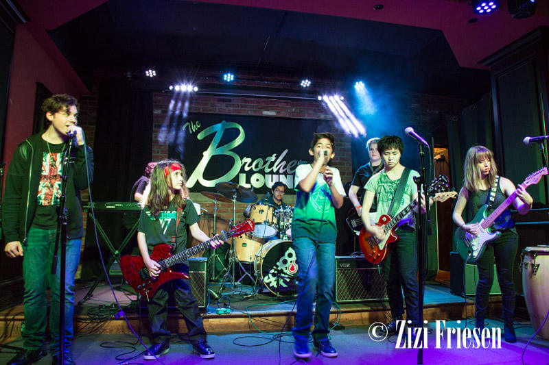 School of Rock Dublin plays Brothers Lounge, Cleveland, Ohio.