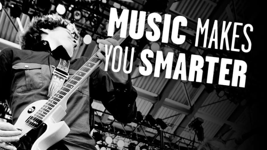Music makes you smarter