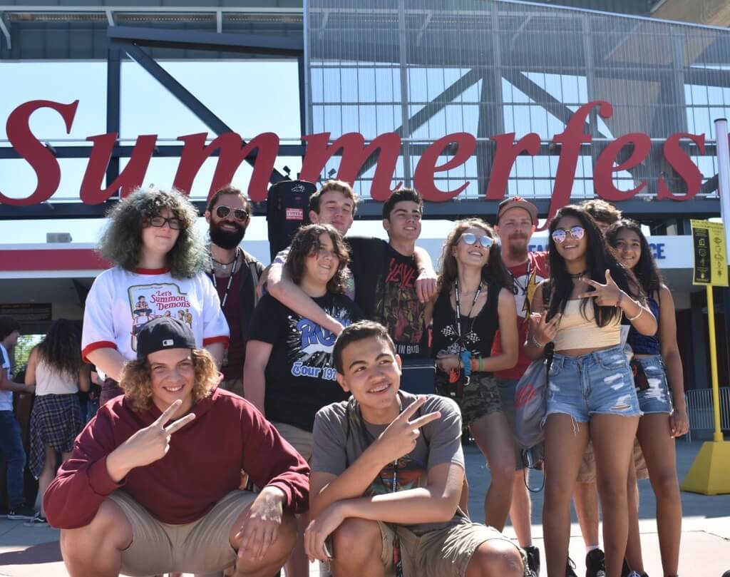 Students perform at Summerfest 2018 in Milwaukee, WI.