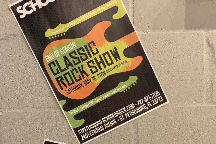 School of rock st petersburg classic rock show