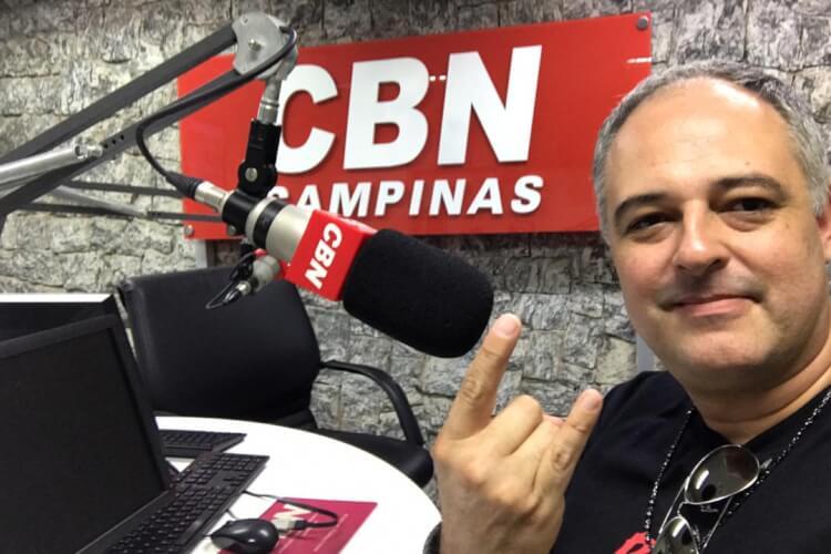 Alê Fernandes na CBN Campinas