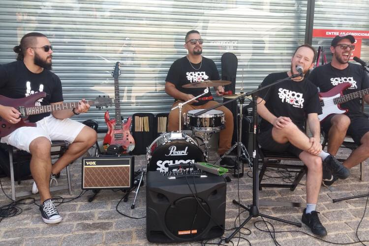 Professores da School of Rock Campinas