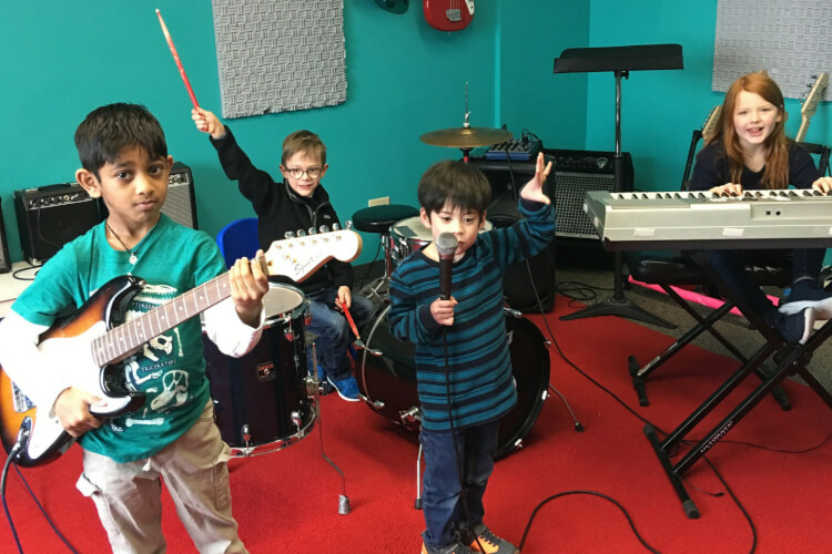Register now for Rookies Music Class for Ages 5-7