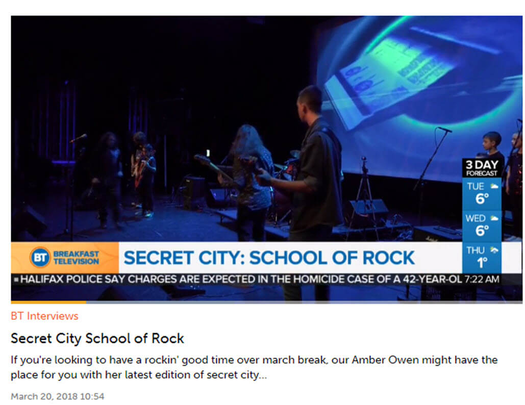 Secret City School of Rock