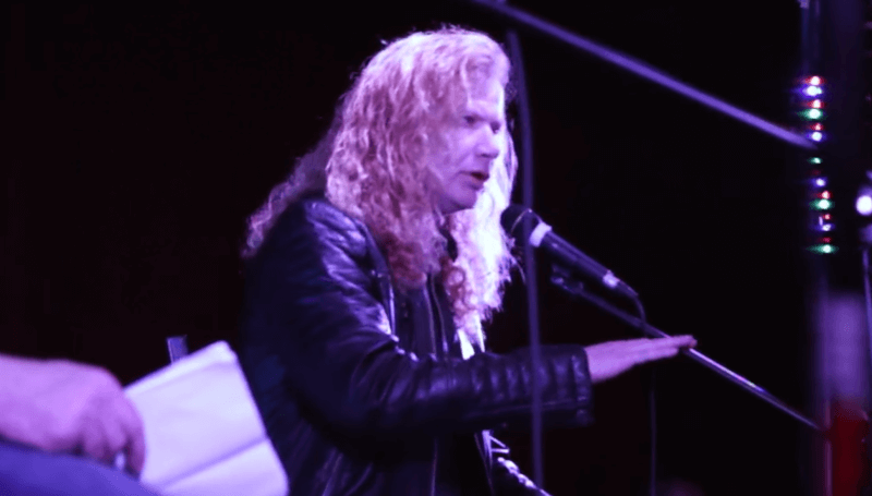 Megadeth's Dave Mustaine takes questions from School of Rock students