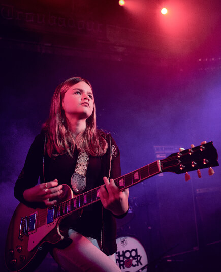 Instructors teen music classes will last