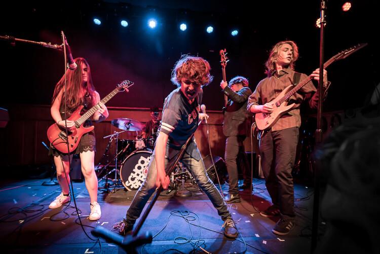 School of Rock Allstars music program